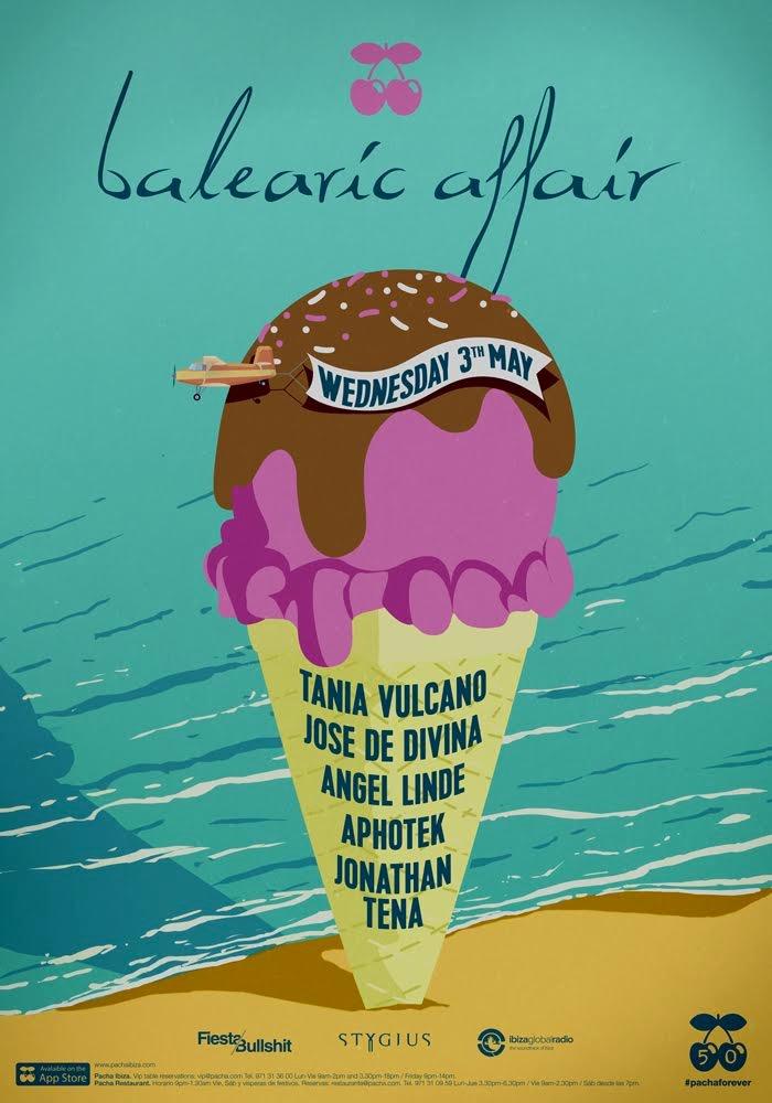 Balearic affair fiesta Pacha Ibiza